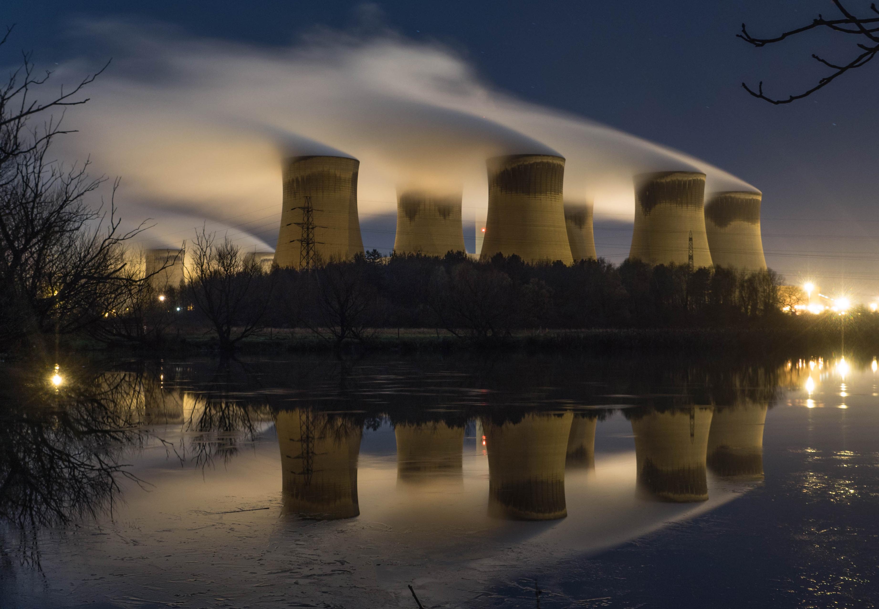 Bild Kühlkreisläufe Kraftwerk
